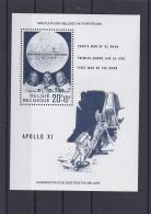Belgium First Man On The Moon - Apollo 11  Souvenir Sheet - MNH/**  (H23) - Space
