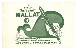 BUVARD STYLO INTÉGAL MALLAT - BALEINE - Stationeries (flat Articles)