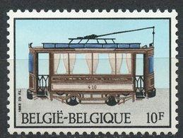 Belgium 1983 10f Trolly Issue  #1136  MNH - Belgium