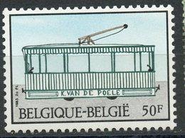 Belgium 1983 50f Trolly Issue  #1137  MNH - Belgium