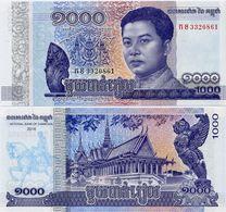 CAMBODIA       1000 Riels       P-New       2016       UNC - Cambogia