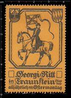 German Poster Stamp, Stamps, Reklamemarke, Cinderellas, Georgi-Ritt In Traunstein - Cinderellas