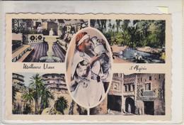 MEILLEURS VOEUX D'ALGERIE. EDIT PHOTO AFRICAINES..-RARE-TBE-BLEUP - Algerije