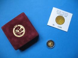 Belgique 2009  BE 12.50€   Or / Gold  LeopoId III - Belgique