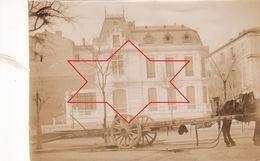 Photo 1898 NIMES - Un Attelage Dans Une Rue (A188) - Nîmes