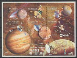 A03. St Vincent - MNH - Space - Espace