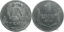 Serbie - Occupation Allemande - 1 Dinar 1942 BP - TTB - Mon2775 - Serbia