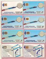 France, Lot De 14 Télécartes, TB - Télécartes