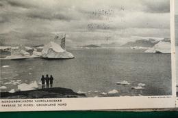 GROENLAND  NORD      -    CARTE    ACHETEE   EXPOSITION    COLONIALE   INTERNATIONALE   DE       1931 - Greenland