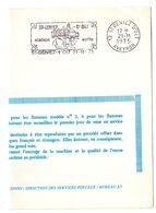 AVEYRON - Dépt N° 12 = St GENIEZ D' OLT 1975 = FLAMME FDC Type II = SECAP Illustrée D'un PONT 'STATION VERTE'' - Marcophilie (Lettres)