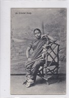 AN ORIENTAL STUDY. THE PHOTOTYPE CO. BOMBAY.-RARE-TBE-BLEUP - Asie