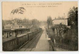 92 - SEVRES - VILLE D'AVRAY - INTERIEUR DE LA GARE - Sevres