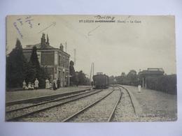 Saint Léger Boissey.  Saint Léger Du Gennetey.  La Gare. - Autres Communes