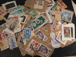 Petit Vrac De Timbres De Monaco (dont Sur Fragment, 30g) - Stamps