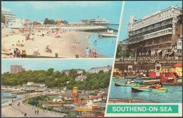 Multiview, Southend-on-Sea, Essex, C.1970s - Photo Precision Postcard - Southend, Westcliff & Leigh