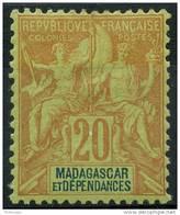 Madagascar (1896) N 34 * (charniere) - Ungebraucht