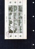 FRANCE - Vignettes Aide Aux Artistes - Paris 1942 X12 - 1 Couleurs Verte - (Oblitérée) - Autres