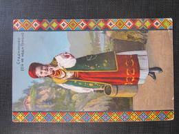 AK TRACHT COSTUMI 1914//  D*30174 - Ukraine