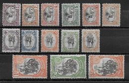 COTES DES SOMALIS - YT N° 53/66 * CHARNIERE CORRECTE  - MH - COTE = 235 EUR. - French Somali Coast (1894-1967)