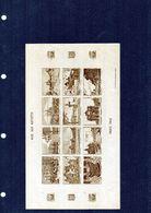 FRANCE - Vignettes Aide Aux Artistes - Paris 1942 X12 - 1 Couleurs Brun - (non Dentelé) - Autres
