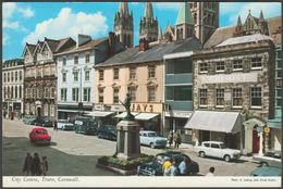 City Centre, Truro, Cornwall, C.1960s - John Hinde Postcard - England