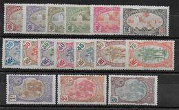 COTES DES SOMALIS - YT N° 67/82 * CHARNIERE CORRECTE  - MH - COTE = 290 EUR. - French Somali Coast (1894-1967)