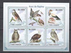 G7 2009 S.TOME E PRINCIPE BIRDS AVES DE RAPINA 1KB MNH - Aigles & Rapaces Diurnes