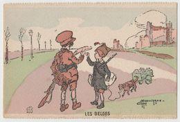 CPA Les Belges - Illustration G. Marechaux - Illustrators & Photographers