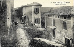 E7 84 LE CRESTET La Maison De Retraite N'a Pas Circulé - Sonstige Gemeinden