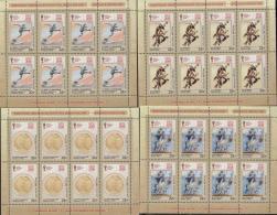 Russland Russia 2017 MNH ** Mi Nr.2523-26  KB Football In Art - Unused Stamps