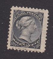 Canada, Scott #34, Used, Queen Victoria, Issued 1870 - Gebruikt