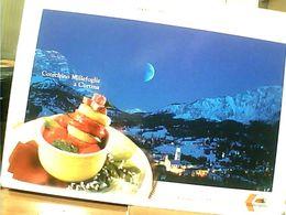 DITTA FERRARINI REGGIO EMILIA RICETTA COTECHINO  MILLEFOGLIE  A CORTINA   N2000   GN21752 - Recipes (cooking)