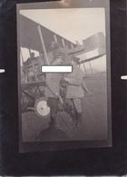 Avion Aviation Escadrille MF14 Corcieux Vosges  Pilotes Et Observateur Moreau Blin 1914 1918 WWI 1.wk - Guerra, Militares