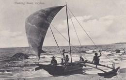CEYLON - FISHING BOAT - Sri Lanka (Ceylon)