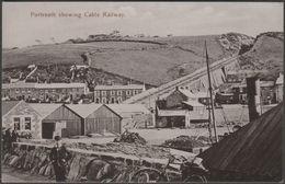 Portreath Showing Cable Railway, Cornwall, 1924 - Cornish Gem Postcard - England