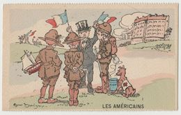 CPA Les Americains - Illustration G. Marechaux - Illustrators & Photographers