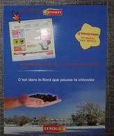 Petit Calendrier De Poche Chicorée Leroux 2010 - C'est Dans Le Nord Ue Pousse La Chicorée - Small : 2001-...