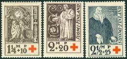 FINLAND 1933 Rode Kruis - Bisschoppen PF-MNH-NEUF - Finland