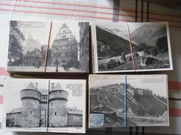 DEPART 1 EURO. LOT DE +OU- 5300 CPA (FRANCE EN MAJORITE) UN PEU DE CPSM P.F - Cartes Postales