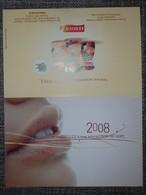 Petit Calendrier De Poche Chicorée Leroux 2008 - Révolution Du Goût - Small : 2001-...
