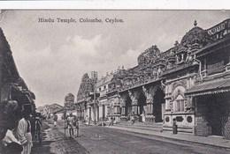 CEYLON -COLOMBO - HINDU TEMPLE - Sri Lanka (Ceylon)