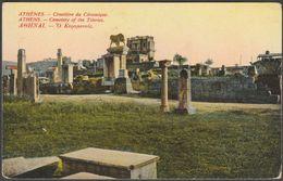 Cimetière Du Céramique, Athènes, C.1905-10 - CPA - Greece
