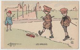 CPA Les Anglais - Illustration G. Marechaux - Illustrators & Photographers