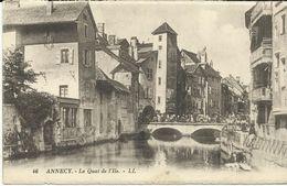 Annecy Le Quai De L'ille     (7414) - Annecy
