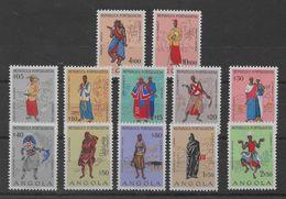 Serie De Angola Nº Yvert 390/01 (*). - Angola