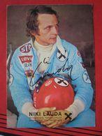 Autogrammkarte Niki Lauda / Formel 1 - Sportler