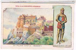 ECOSSE  STIRLING    CASTELE    EDITION  DE LA CHOCOLATERIE  D'AIGUEBELLE  TBE  FO156 - Scotland