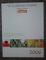 Petit Calendrier De Poche Chicorée Leroux 2006 - Small : 2001-...