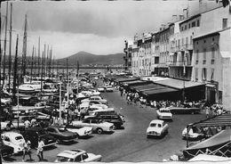 SAINT-TROPEZ (Var) - Le QUAI JEAN JAURES Et Le PORT - La Côte Des Maures - Voyagée Le 22 Août 1952 - Saint-Tropez