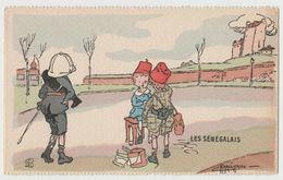 CPA Les Senegalais - Illustration G. Marechaux - Illustrators & Photographers